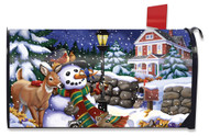 Snowfall Gathering Mailbox Cover