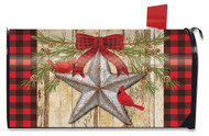 Festive Barnstar Mailbox Cover
