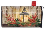 Holiday Lantern Mailbox Cover