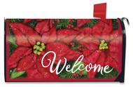 Holiday Poinsettia Mailbox Cover