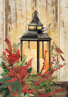 Holiday Lantern Garden Flag