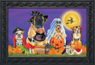 Trick or Treat Dogs Doormat