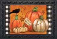 Rustic Pumpkins Doormat