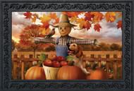 Autumn Scarecrow Doormat