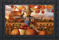 Autumn Scarecrow Doormat
