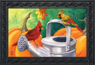 Fall Watering Can Pumpkins Doormat