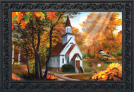 Autumn Church Doormat