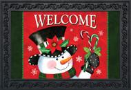 Christmas Snowman Doormat