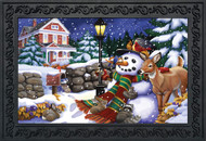 Snowfall Gathering Doormat