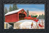 Winter Bridge Doormat