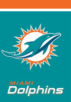 Miami Dolphins Garden Flag
