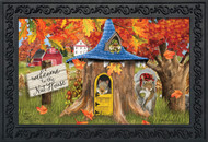 Fall Nut House Squirrels Doormat