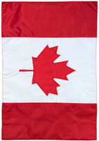 Canada Applique & Embroidered House Flag