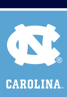 North Carolina Tar Heels NCAA House Flag
