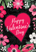 Happy Valentine's Floral House