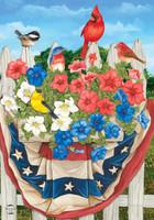 American Birds Garden Flag
