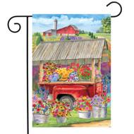 Spring Farm Garden Flag
