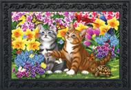 Garden Kittens Doormat