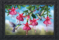 Flight Of The Hummingbirds Doormat