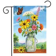 Sunshine Bouquet Garden Flag