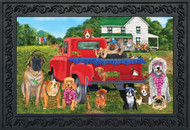 Country Pups Doormat