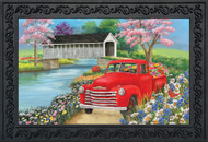 Spring Covered Bridge Doormat