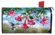 Flight Of The Hummingbirds Mailbox Cover