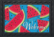 Watermelon Welcome Doormat