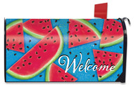 Watermelon Welcome Mailbox Cover