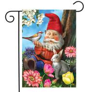 Garden Gnome Garden Flag