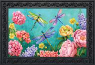 Dragonfly Garden Doormat