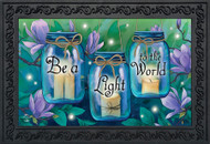 Be A Light To The World Doormat