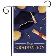 Happy Graduation Garden Flag
