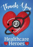 Healthcare Heroes Garden Flag