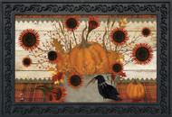 Primitive Pumpkins Doormat