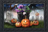Spooky Kittens Doormat