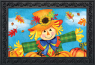 Harvest Celebration Scarecrow Doormat