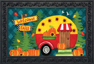Welcome Fall Camper Doormat