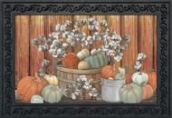 Pumpkins and Willows Doormat