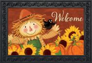 Happy Scarecrow Doormat