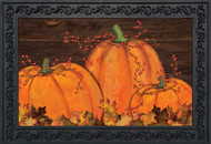 Rustic Pumpkin Patch Doormat