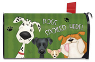 Spoiled Dogs Mailbox Cover