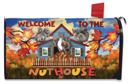 Nuthouse Mailbox Cover