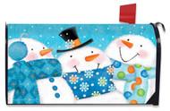 Snow Buds Mailbox Cover