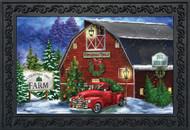 Christmas Tree Farm Doormat