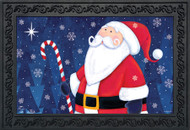 North Star Santa Doormat