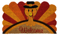 Turkey Welcome Coir Doormat (Case Pack - 4)