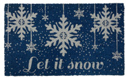 Let It Snow Coir Doormat (Case Pack - 4)