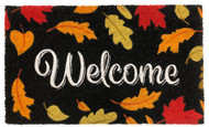 Welcome Leaves Coir Doormat (Case Pack - 4)