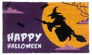 Halloween Witch Coir Doormat (Case Pack - 4)